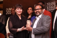 Dubai 2014 Young CEO's Business Summit ends in grand style with Madame Sabine Balve