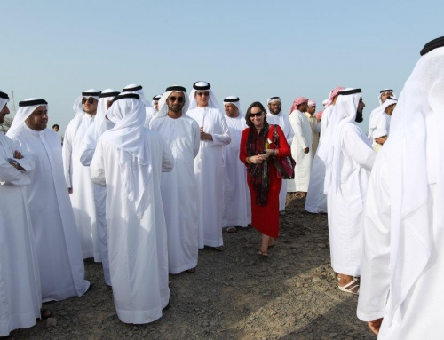 Inaugurated Kalba Eco Project with His Royal Highness Dr. Sultan bin Mohammed Al Qasim, Ruler of Sharjah, UAE