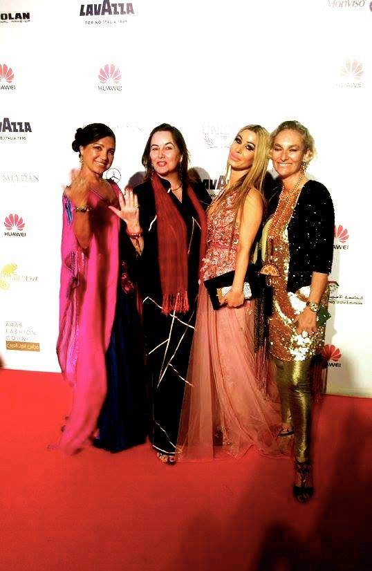 Arab Fashion Week, Red Carpet, Madame Sabine Balve