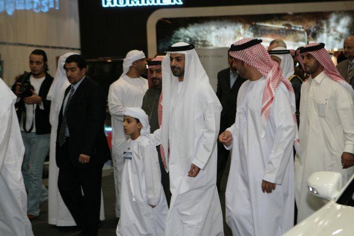 His Royal Highness Sheik Omar Al Nahyan from the UAE president family coming to Madame Sabine Balve (pic 4)