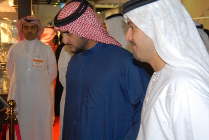 Madame Sabine Balve and the son of His Highness Sheik Mohammed bin Rashid al Maktoum - the royal leader of Dubai in UAE (4)