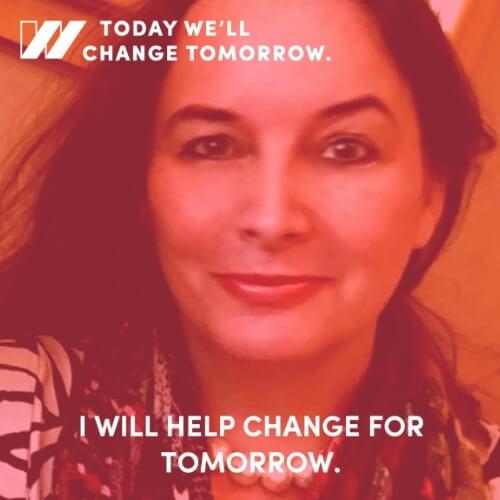 I will help change for tomorrow - Sabine Balve