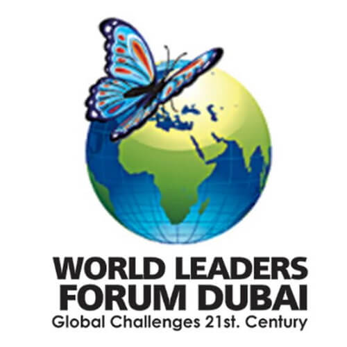 Sabine Balve World leaders forum dubai Logo