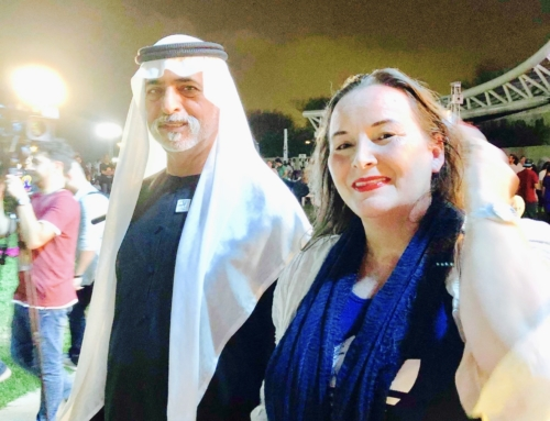 With the Minister of Tolerance (UAE) His Excellency Sheikh Nahyan bin Mubarak Al Nahyan